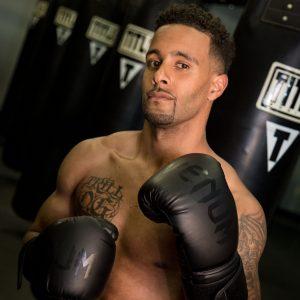 Title Boxing Black Boxing Gloves