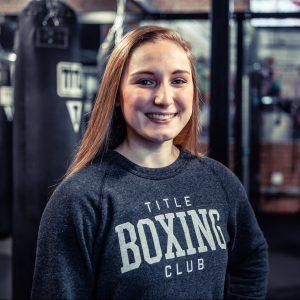 title boxing trainer jen