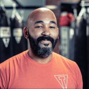 title boxing trainer kenny