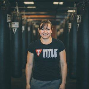 title boxing club trainer leah