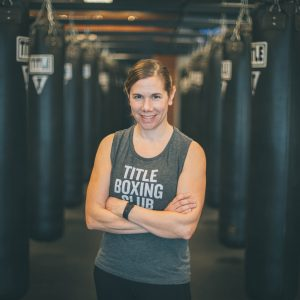 title boxing club trainer stacey