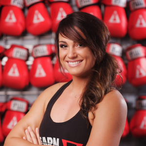 Anna + Title Boxing Trainer + Boxing gloves