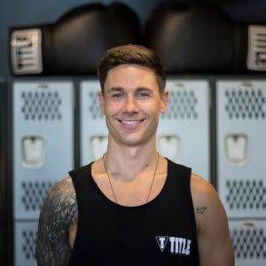 boxing group fitness trainer - luke