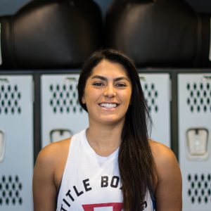 sacramento group boxing trainer - olivia
