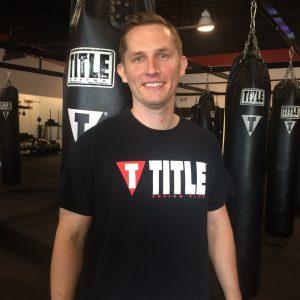 Steven Title Boxing Club Trainer Loveland headshot staff photo loveland