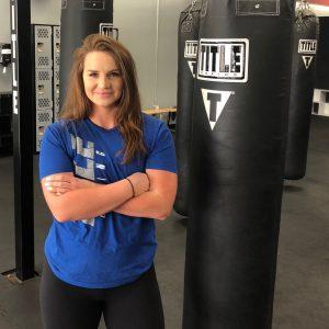 TITLE Kickboxing Instructor - Tina