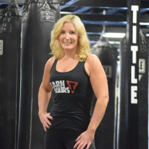 title boxing club north andover trainer - michaela