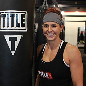title boxing club plano trainer - rita