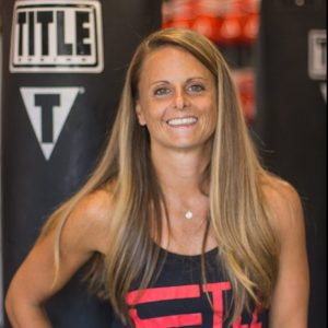 title boxing trainer lisa