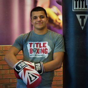 title boxing club trainer - Adam