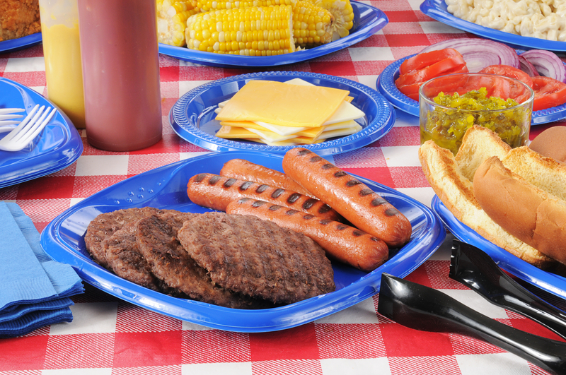 Picnic Table With Food Clip Art | Car Interior Design