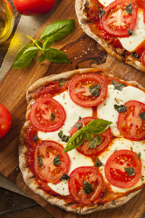 Healthy Snacks Pizza