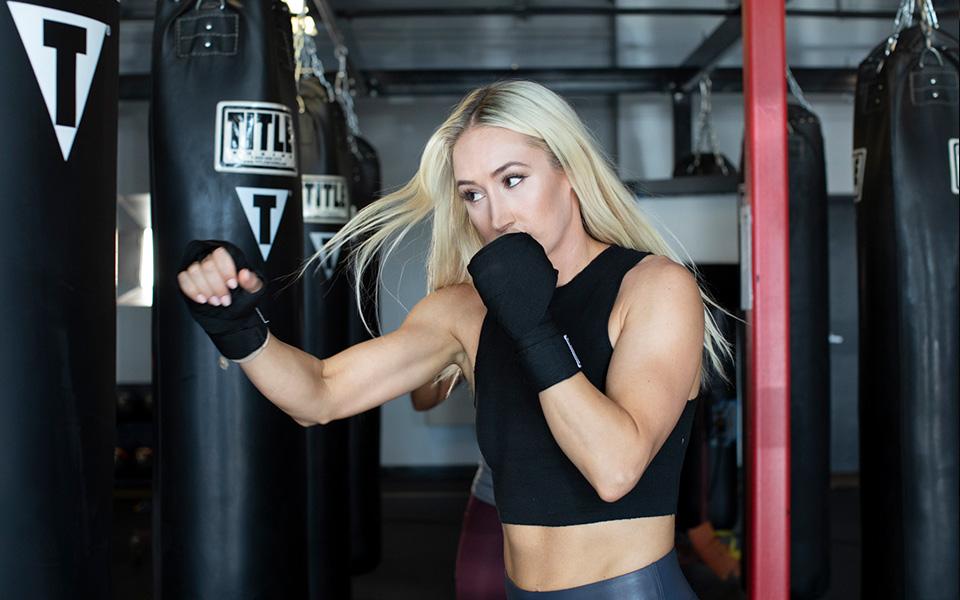MMA class warm up